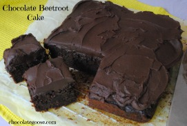 Chocolate Beetroot Cake
